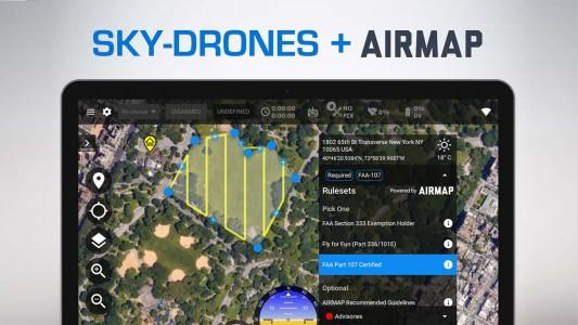 Sky-Drones embraces AirMap airspace services