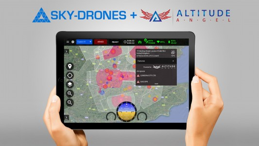 Sky-Drones partners with Altitude Angel