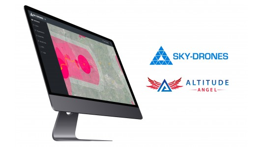 Sky-Drones partners with Altitude Angel to provide integrated airspace service